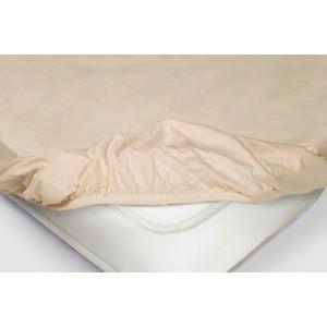 Простынь на резинке Ecotex 160x200, чайная роза (4650074959153) простыни на резинке 160x200 эго