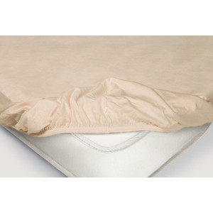 Простынь на резинке Ecotex 200x200, чайная роза (4650074959177)