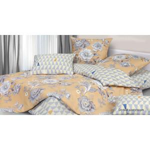 Комплект постельного белья Ecotex 2 сп, сатин, Гармоника Белый шиповник (4660054340789)