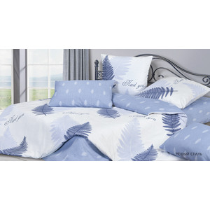 Комплект постельного белья Ecotex семейный, сатин, Гармоника Новый стиль (4660054341120)