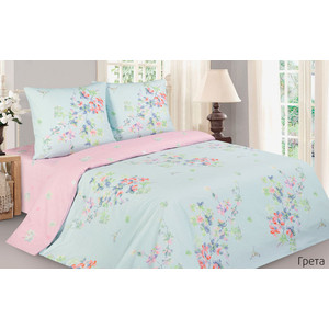 Комплект постельного белья Ecotex 1,5 сп, поплин, Поэтика Биарриц (4660054340451) комплект постельного белья ecotex 1 5 сп поплин шарль кп1шарль