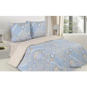 цена Комплект постельного белья Ecotex семейный, поплин, Поэтика Биарриц (4660054340505) онлайн в 2017 году