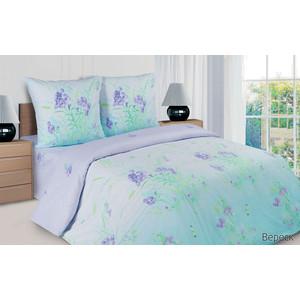 Комплект постельного белья Ecotex семейный, поплин, Поэтика Вереск (4650074959740)