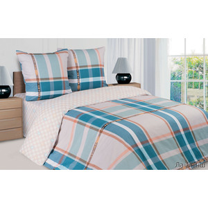 Комплект постельного белья Ecotex семейный, поплин, Поэтика Ла-Манш (4660054340444)