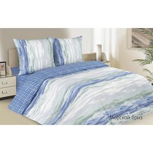 все цены на Комплект постельного белья Ecotex семейный, поплин, Поэтика Морской бриз (4660054340260) онлайн