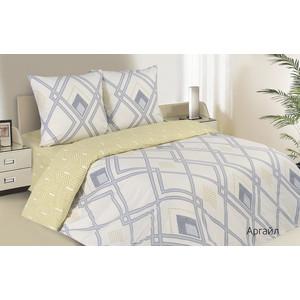 Комплект постельного белья Ecotex евро, поплин, Поэтика Аргайл (4660054340543) цены онлайн