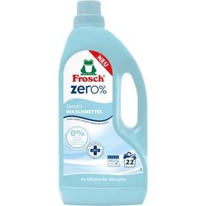 цены Жидкое средство Frosch ZERO 0% Сенситив для стирки белья концентрированное 1,5 л