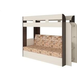 Кровать Атлант Карамель 75 Geraffe (Саванна) сосна карелия, венге магия
