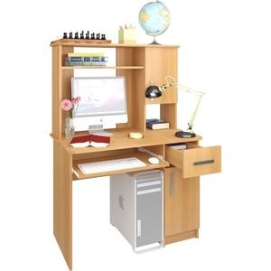 Стол компьютерный Атлант Интел 15 вишня оксфорд