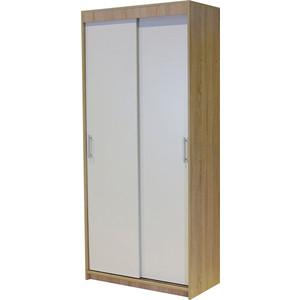 Шкаф-купе Гамма Уют 90х45х200 дуб сонома+белый