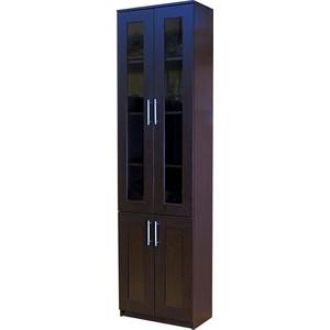 Книжный шкаф Гамма Симфония-2 60х30х220 венге цена