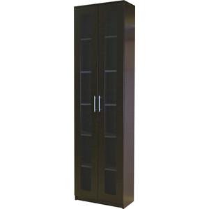 Книжный шкаф Гамма Симфония-1 60х30х220 венге шкаф книжный 1