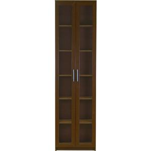 Книжный шкаф Гамма Симфония-1 60х30х220 орех