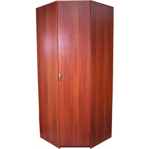 Угловой шкаф Гамма Уют 82х45х240 вишня академия