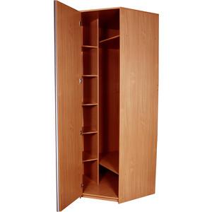 Угловой шкаф Гамма Премиум 82х45х240 вишня оксфорд шкаф купе премиум 902 вишня оксфорд
