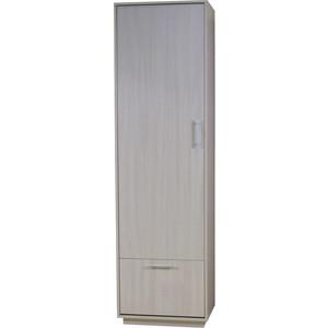 Шкаф с обувницей Гамма Уют-1 60х40х210 беленый дуб