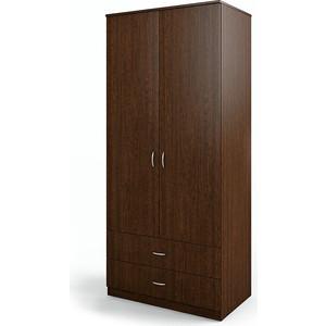 Шкаф двухдверный Гамма Мелодия 80х60 венге
