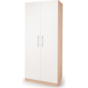 Шкаф распашной Гамма Шарм 60х45 дуб сонома+белый