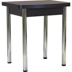 Стол обеденный Гамма Рио раздвижной 55/110х70 венге раздвижной большой стеклянный обеденный стол кубика нагано 2 стекло стекло оранжевое венге