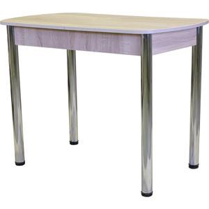 Стол обеденный Гамма Рио раздвижной 100/130х60 дуб сонома раздвижной большой стеклянный обеденный стол кубика нагано 3 стекло стекло оранжевое беленый дуб