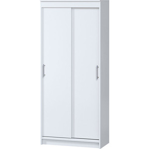 Шкаф-купе Гамма Эконом 90х45 белый