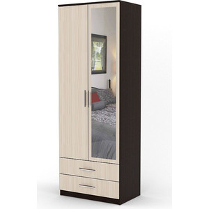 Шкаф двухдверный Гамма Дуэт 70х45 венге+вяз