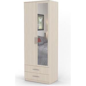 Шкаф двухдверный Гамма Дуэт 70х60 вяз