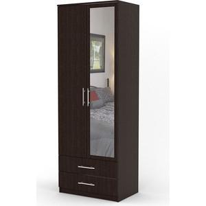 Шкаф двухдверный Гамма Дуэт 70х60 венге