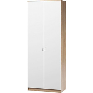 цена Шкаф комбинированный Гамма Евро лайт 80х60 дуб сонома+белый онлайн в 2017 году