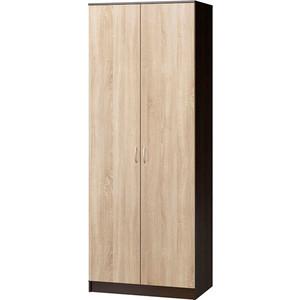 Шкаф комбинированный Гамма Евро лайт 90х60 венге+дуб сонома