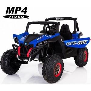 Двухместный полноприводный электромобиль XMX Blue UTV-MX Buggy 12V MP4 - XMX603-BLUE-MP4 цены онлайн