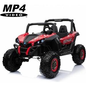 Двухместный полноприводный электромобиль XMX Red Spider UTV-MX Buggy 12V MP4 - XMX603-RED-PAINT-MP4 red