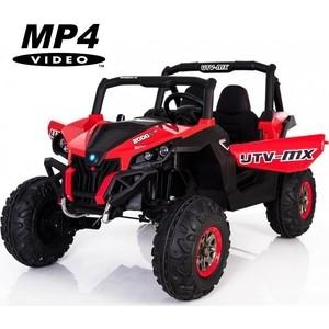 Двухместный полноприводный электромобиль XMX Red UTV-MX Buggy 12V MP4 - XMX603-RED-MP4