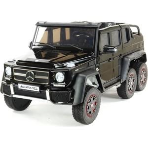Двухместный электромобиль Aibeila Mercedes Benz G63 6x6 4WD - ABL1801-BLACK-PAINT автомобиль welly mercedes benz g63 amg 6x6 1 24 24061w