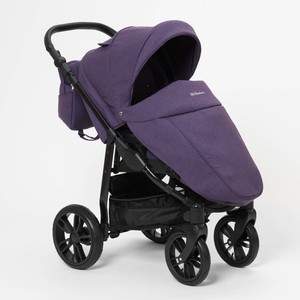 Коляска прогулочная Mr Sandman Vortex Фиолетовый (KMSV-088403) коляска mr sandman vortex прогулочная фиолетовый