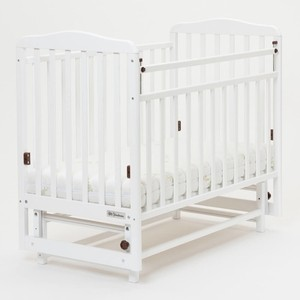 Кроватка Mr Sandman Кровать Skylark-2 с маятником Белый (KMSS2-0881MSS2-01) кроватка с маятником nuovita sorriso swing bianco