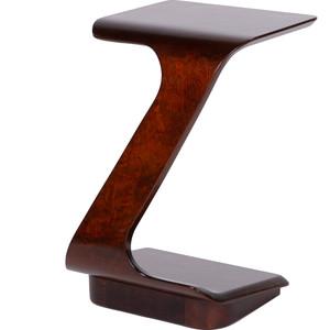 Стол журнальный приставной Мебелик Неро вишня стол журнальный мебелик сакура 3 эко кожа венге