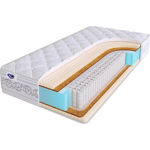 Матрас SkySleep ETALON MEDIUM S1000 200x200x23