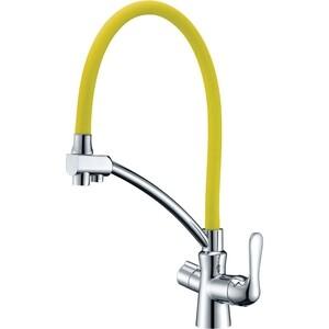 Смеситель для кухни Lemark Comfort (LM3070C-Yellow)
