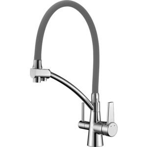 Смеситель для кухни Lemark Comfort (LM3071C-Gray)