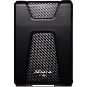 Внешний жесткий диск ADATA DashDrive Durable HD650 USB 3.1 (AHD650-1TU31-CBK)