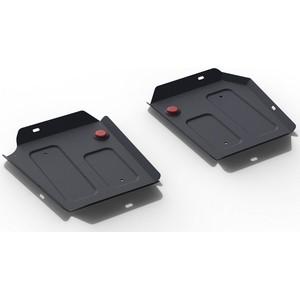 Защита топливного бака АвтоБРОНЯ для Geely Emgrand X7 (2018-н.в.), сталь 2 мм, 111.01919.1