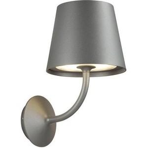 Уличный настенный светодиодный светильник Odeon 4608/7WL