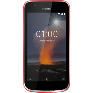 Смартфон Nokia 1 DS TA-1047 Warm Red смартфон
