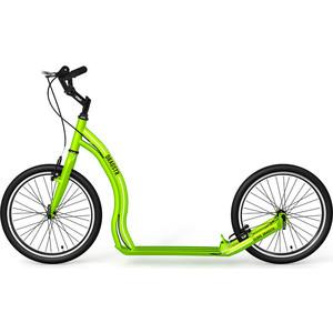 Самокат 2х-колесный Yedoo Dragstr Зеленый (111511)