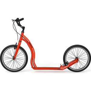 цены на Самокат 2х-колесный Yedoo Dragstr Красный (111512)  в интернет-магазинах