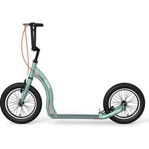 Самокат 2х-колесный Yedoo Friday Серебристо/зеленый (111521)
