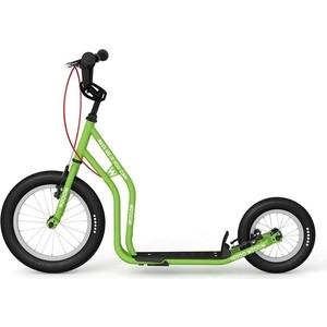 цены на Самокат 2х-колесный Yedoo Wzoom New Зеленый (110911)  в интернет-магазинах