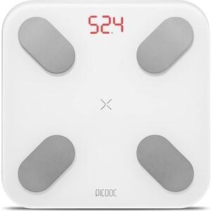 купить Умные весы Picooc Mini (Bluetooth, 26х26 см), белый по цене 2990 рублей