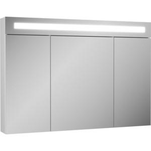 Зеркальный шкаф OWL 1975 Lagerta 105x14,5 см, белый (OW08.05.00)